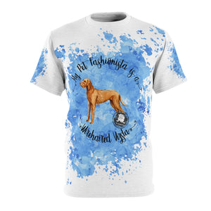 Wirehaired Vizsla Pet Fashionista All Over Print Shirt