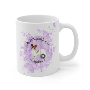 Papillon Pet Fashionista Mug