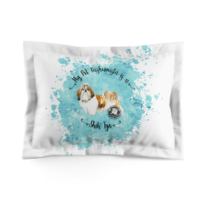 Shih Tzu Pet Fashionista Pillow Sham