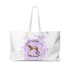 Lagotto Romagnolo Pet Fashionista Weekender Bag