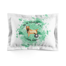 Load image into Gallery viewer, Cairn Terrier Pet Fashionista Pillow Sham
