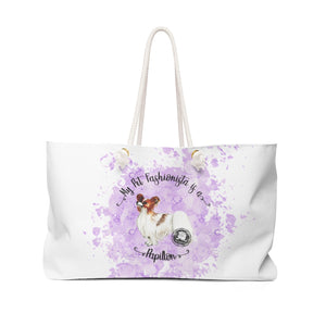 Papillon Pet Fashionista Weekender Bag