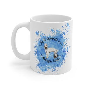 Bedlington Terrier Pet Fashionista Mug