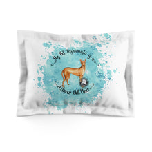 Load image into Gallery viewer, Cirneco Dell'Etna Pet Fashionista Pillow Sham