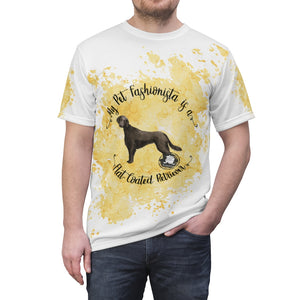 Flat-Coated Retriever Pet Fashionista All Over Print Shirt