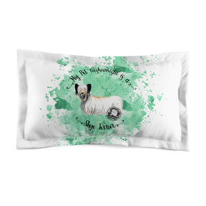 Skye Terrier Pet Fashionista Pillow Sham
