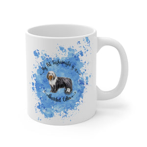 Bearded Collie Pet Fashionista Mug