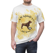 Load image into Gallery viewer, Field Spaniel Pet Fashionista All Over Print Shirt