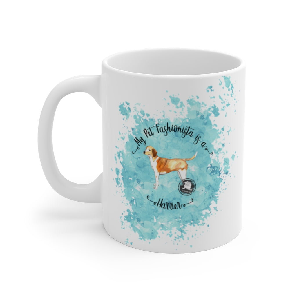 Harrier Pet Fashionista Mug
