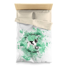 Load image into Gallery viewer, French Bulldog Pet Fashionista Duvet Cover