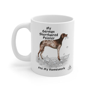 My German Shorthaired Pointer Ate My Homework Mug