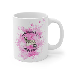 Cesky Terrier Pet Fashionista Mug