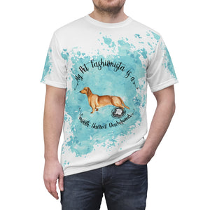Dachshund (Smooth haired) Pet Fashionista All Over Print Shirt