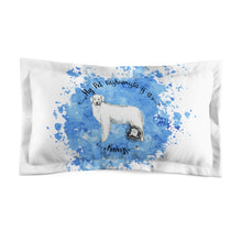 Load image into Gallery viewer, Kuvasz Pet Fashionista Pillow Sham