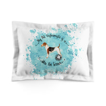 Load image into Gallery viewer, Wire Fox Terrier Pet Fashionista Pillow Sham