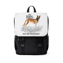 Load image into Gallery viewer, My Belgian Malinois Ate My Homework Backpack