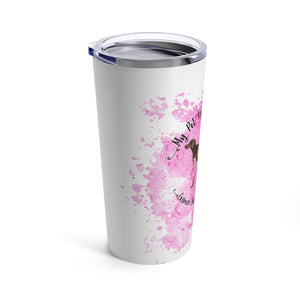 German Shorthaired Pointer Pet Fashionista Tumbler