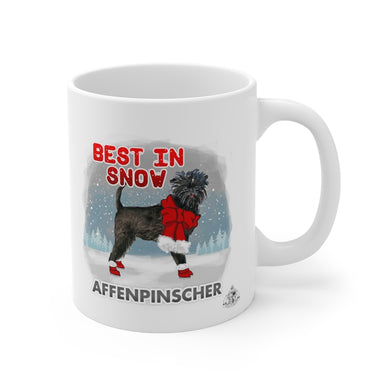 Affenpinscher Best In Snow Mug