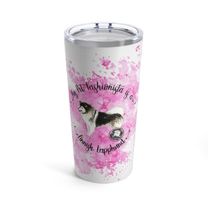 Finnish Lapphund Pet Fashionista Tumbler