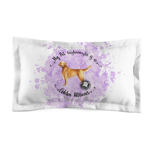 Golden Retriever Pet Fashionista Pillow Sham