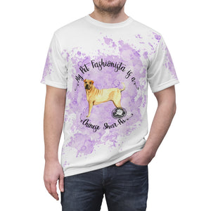 Chinese Shar-Pei Pet Fashionista All Over Print Shirt