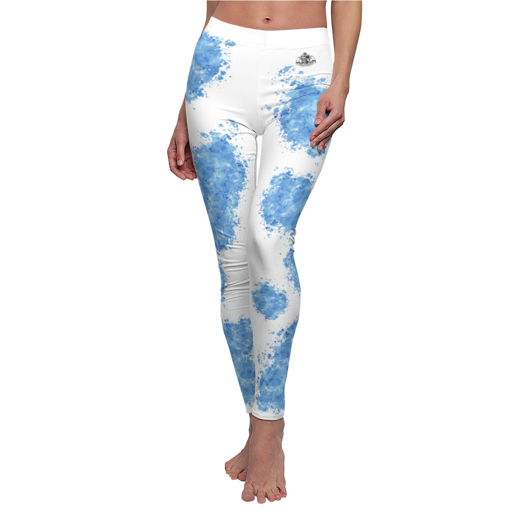 Blue Splash Pet Fashionista Casual Leggings