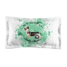 Load image into Gallery viewer, Swedish Vallhund Pet Fashionista Pillow Sham