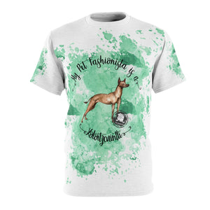 Xoloitzcuintli Pet Fashionista All Over Print Shirt
