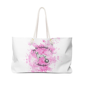 Dalmation Pet Fashionista Weekender Bag