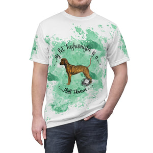 Plott Hound Pet Fashionista All Over Print Shirt