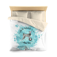 Load image into Gallery viewer, Pumi Dog Pet Fashionista Duvet Cover