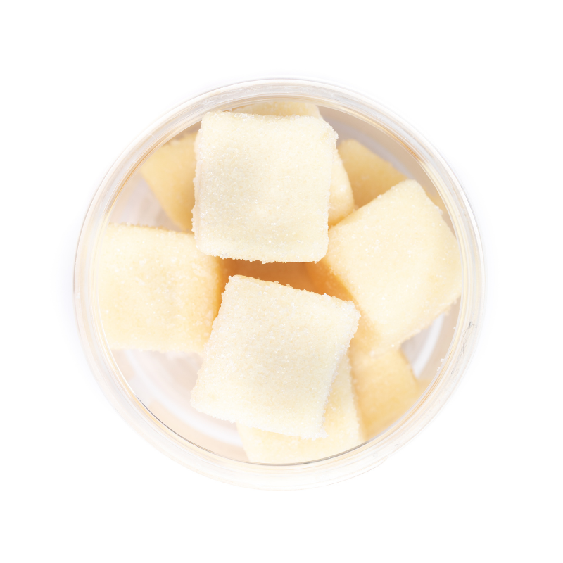 Lemon Sugar Cube Jar