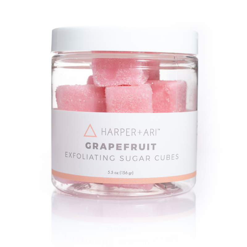 Grapefruit Sugar Cube Jar