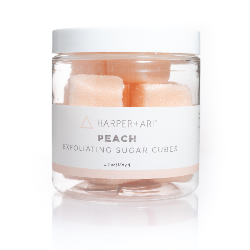 Peach Sugar Cube Jar