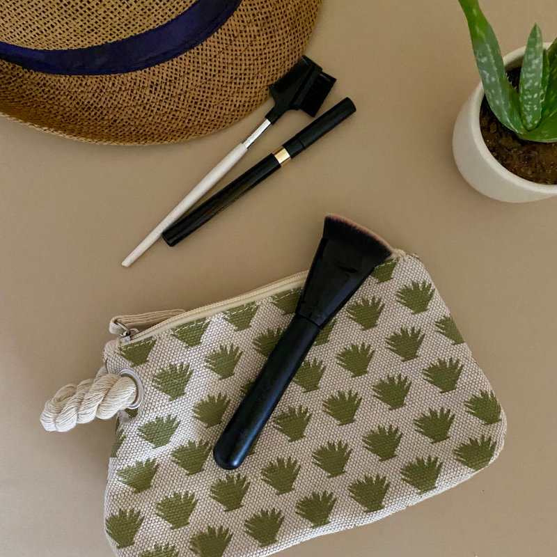 Aloe Cosmetic Bag