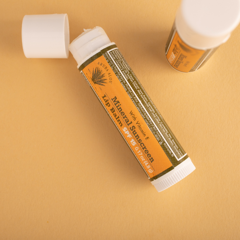Mineral Sunscreen Lip Balm with SPF 15