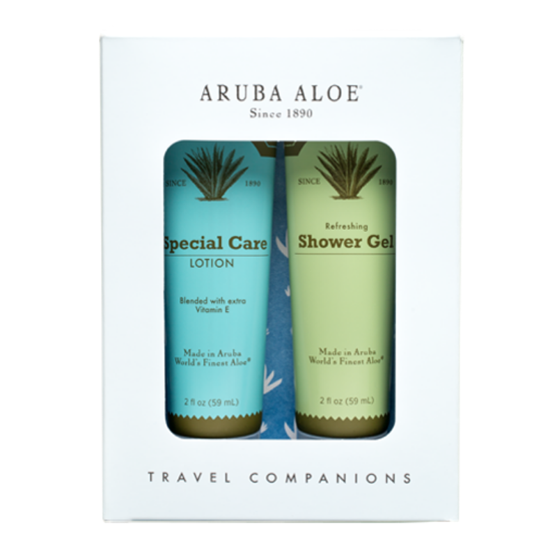 Refreshing Shower Gel and Special Care Lotion (Travel Duo)