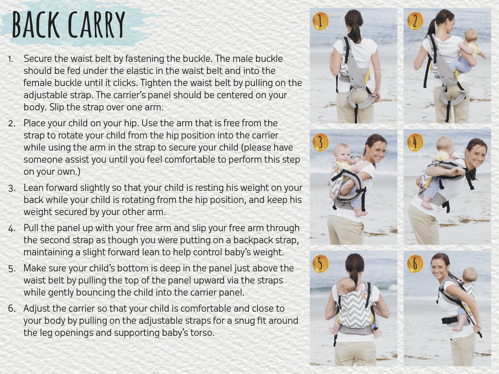 Baby Tula Baby Carrier Instructions Baby Tula Uk