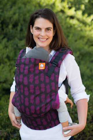 (Standard Size) Full Wrap Conversion Tula Baby Carrier - Tula Ananas Tart 2 - Baby Tula