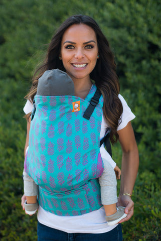 (Standard Size) Full Wrap Conversion Tula Baby Carrier - Tula Ananas Tropical 2 - Baby Tula