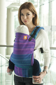 Half Standard WC Carrier - Morning Glory Blue Weft - Baby Tula