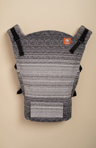 Apple Blossom Reflection Kaleidoscope (silver weft) - Tula Signature Baby Carrier
