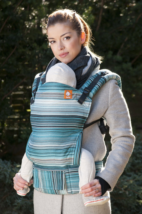 Full Standard WC Carrier - Asteria Rain - Baby Tula