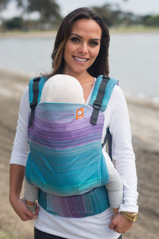(Standard Size) Full Wrap Conversion Tula Baby Carrier - TULA Aurora Galileo - Baby Tula