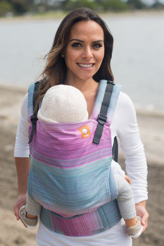 (Standard Size) Full Wrap Conversion Tula Baby Carrier - TULA Aurora Kepler - Baby Tula