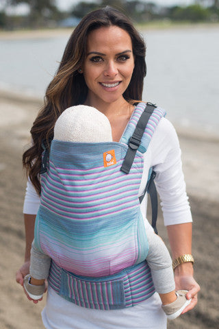 (Standard Size) Full Wrap Conversion Tula Baby Carrier - TULA Aurora Newton - Baby Tula
