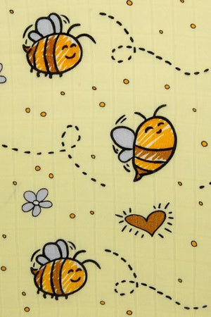 Bee Happy - Tula Cuddle Me Blanket - Baby Tula