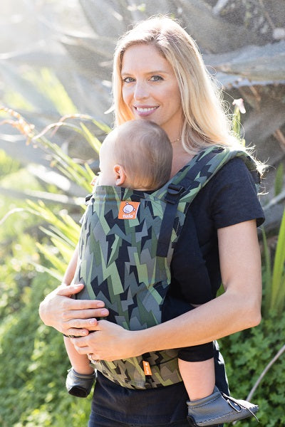 Black Lightning - Tula Toddler Carrier