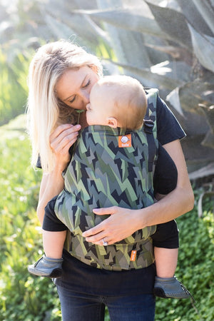 Black Lightning - Tula Free-to-Grow Baby Carrier - Baby Tula