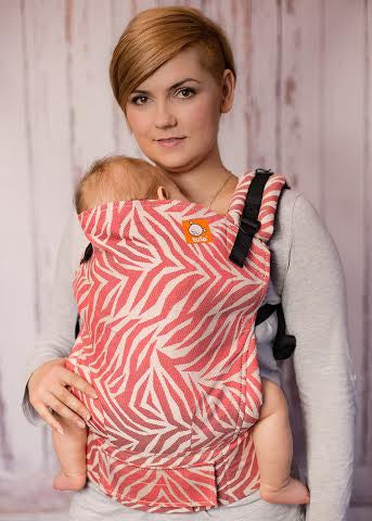 (Standard Size) Half Wrap Conversion Tula Baby Carrier - Cari Slings Tigress A Red Thread - Baby Tula